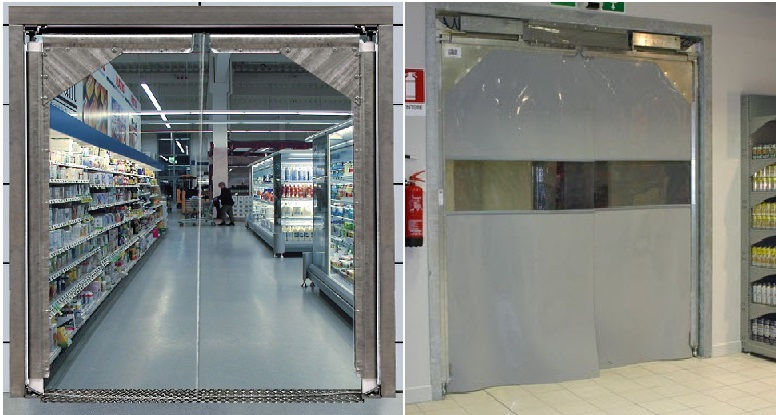 Air Curtains In Uae Pvc Flap Doors In Uae Pvc Strip